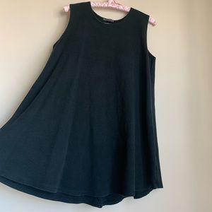 Brandy Melville Flirty Black Flowy Dress